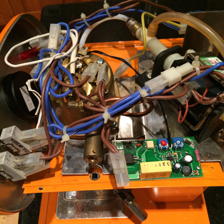Francisfrancis X1 Espresso Machine Diy Temperature Control Repair Fuse Box Francis Rats Nest