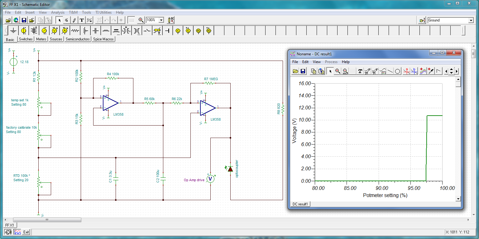 February 2015 Decompression Stop Triac Voltage Controller Public Circuit Online Simulator Tina Ti Simulation