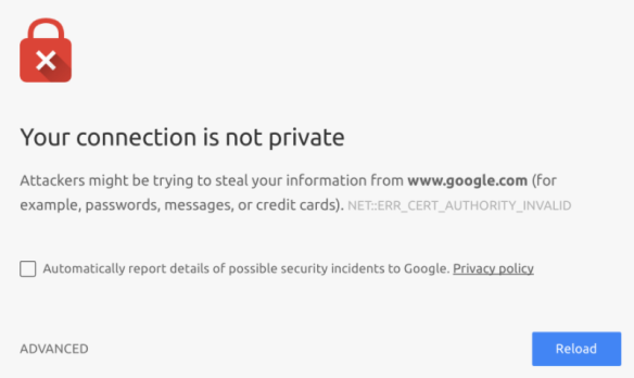 Steps to Fix Google Chrome SSL Self-Signed Certificate Error ...